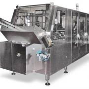 Tray forming and filling machine
